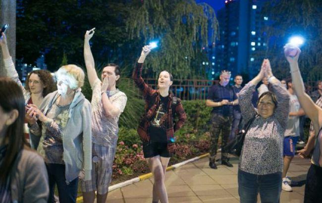 Протесты в Беларуси охватили крупнейшие города
