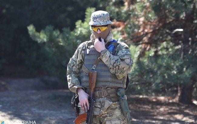 Боевики на Донбассе один раз обстреляли украинские позиции, потерь нет