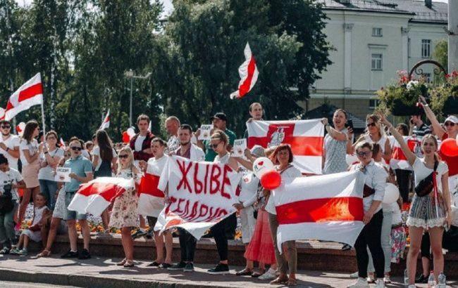 У Білорусі за добу склали майже 80 протоколів на учасників протестів