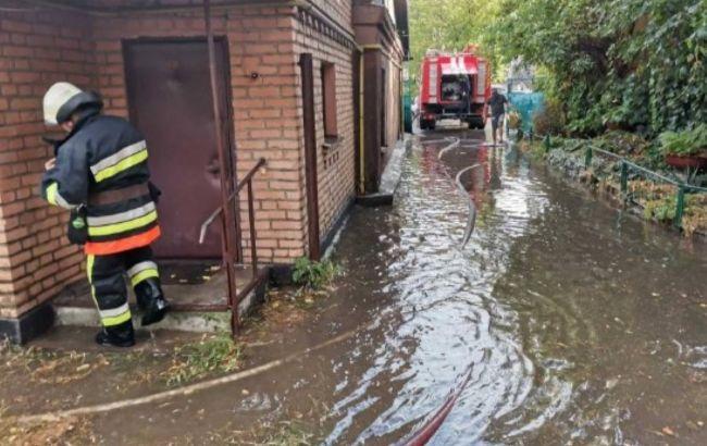 У Вінниці через негоду підтоплено кілька районів