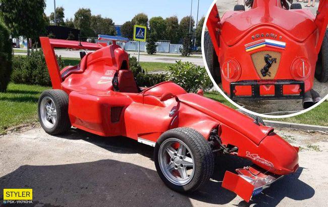 """Запорожец"" превратили в болид Ferrari и выставили на продажу: фото ""монстра"""