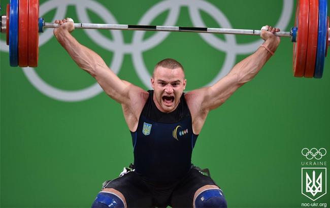 Украинский тяжелоатлет Пелешенко временно отстранен из-за допинга