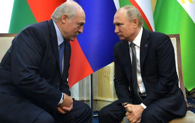 Путін дасть Лукашенко кредит на 1,5 млрд доларів