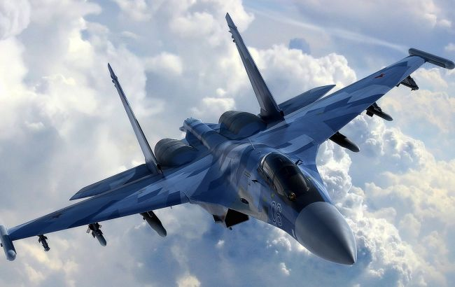 РФ підняла винищувачі через американські бомбардувальники