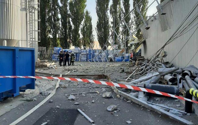 Названа попередня версія вибуху на підприємстві в Києві