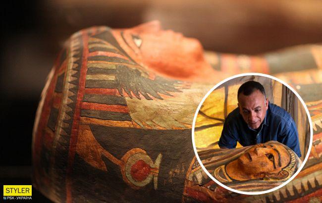 В Египте нашли 14 неповрежденных 2500-летних саркофагов: яркие фото