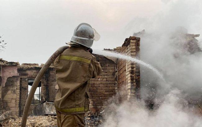 Пожары в Луганской области расширились