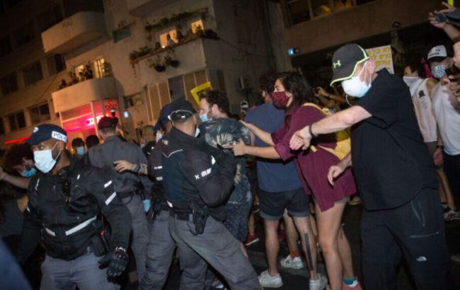 В Ізраїлі антиурядові протести переросли у сутички з поліцією