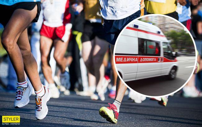 В Харькове трагически погиб молодой спортсмен во время полумарафона