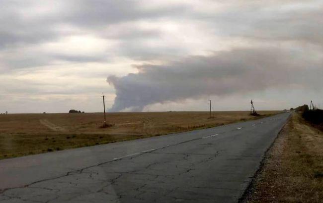 У Росії горять склади боєприпасів, почалися вибухи