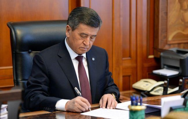 Парламент Киргизстану запустив процедуру імпічменту президенту, - депутат