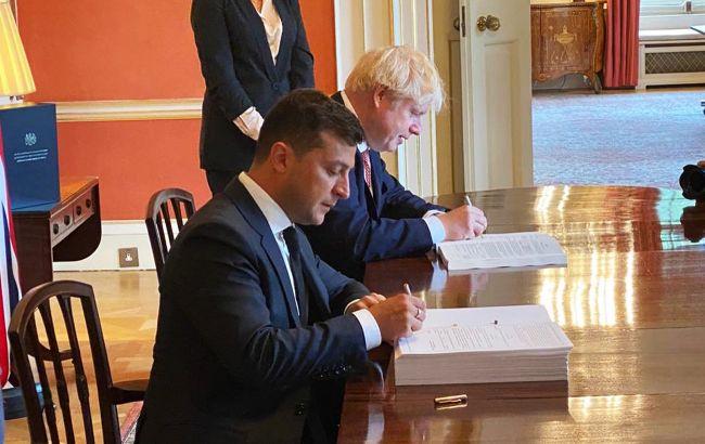 Украина и Британия подписали соглашение о свободной торговле и партнерстве