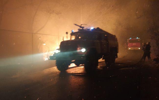 У Луганській області підірвалась на вибуховому пристрої пожежна машина