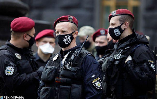 Массовые акции, ограничение движения и полиция: как проходит День защитника Украины в Киеве