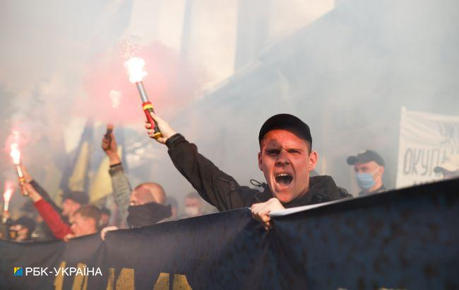 Мероприятия ко Дню защитника в Киеве прошли без нарушений