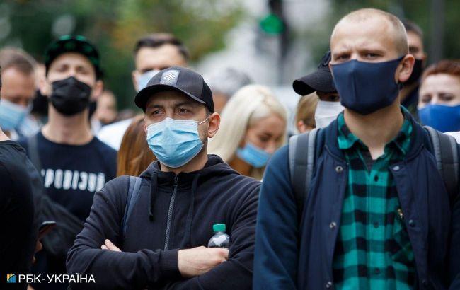 В Украине за сутки выявили 5231 новый случай COVID-19