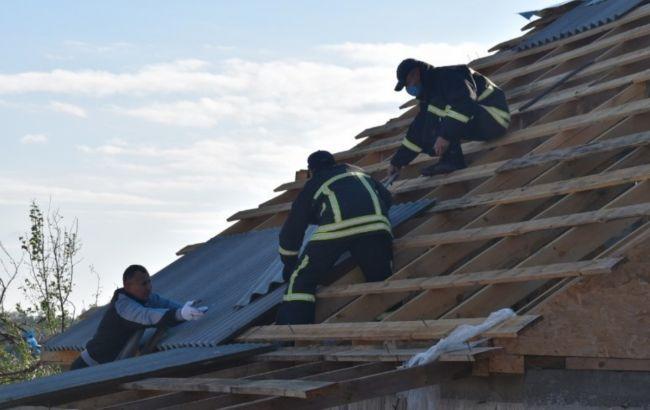 У Кропивницькому пошкоджено понад 100 будинків через негоду