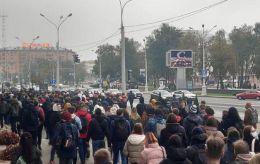 У Мінську силовики розігнали мітинг студентів