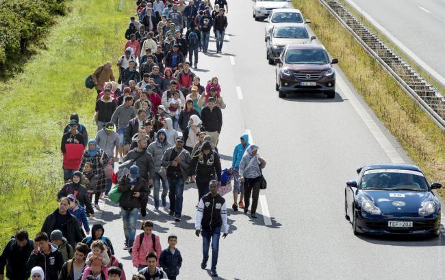 Фото: біженці в ЄС