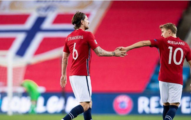 Норвегия запретила сборной по футболу лететь на матчи Лиги наций