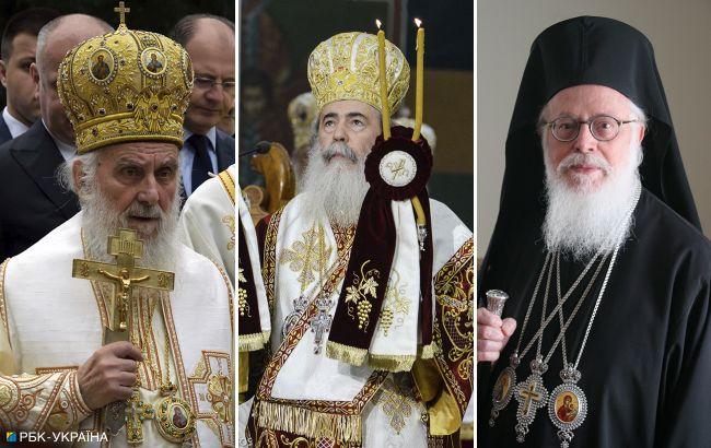 У предстоятелів трьох православних церков COVID-19, один у важкому стані