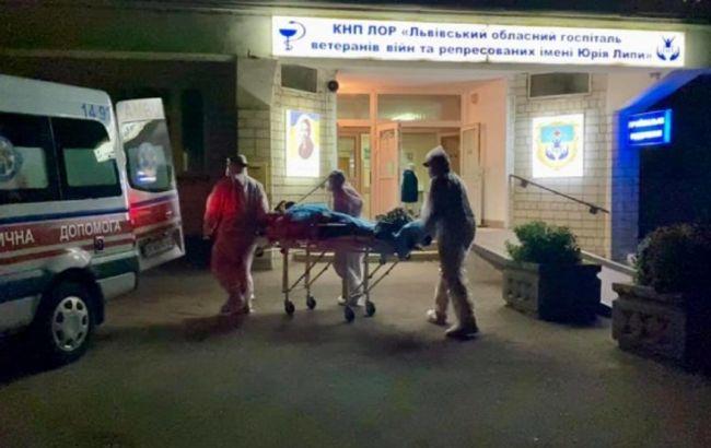 Вибух кисню у Винниках: пацієнтів з госпіталю евакуювали
