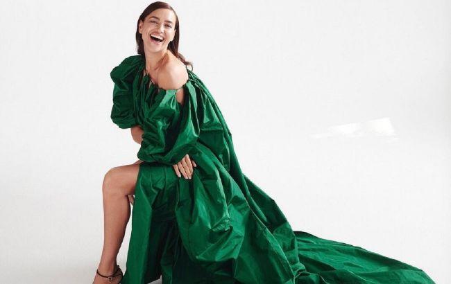 Казкова принцеса: Ірина Шейк в розкішних вечірніх вбраннях захопила неземною красою