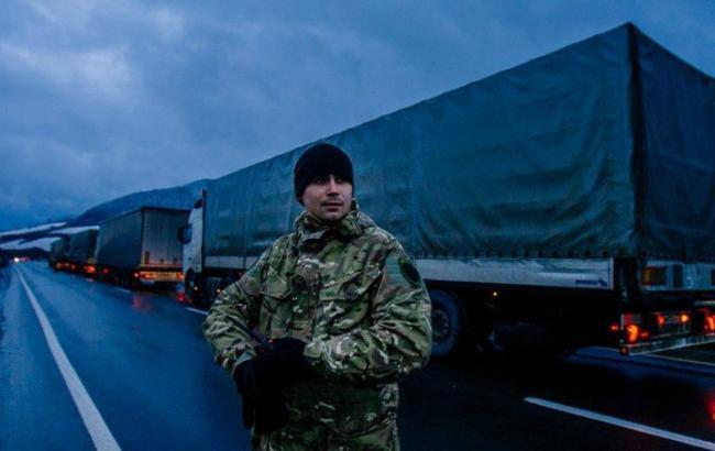 Фото: активисты отметили, что блокадой сумели привлечь внимание общества
