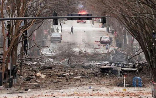 У поліції вважають, що вибух в Нешвіллі міг організувати смертник
