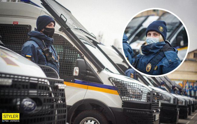 Нацгвардия начала патрулировать улицы городов на новых спецавто: яркие фото и видео