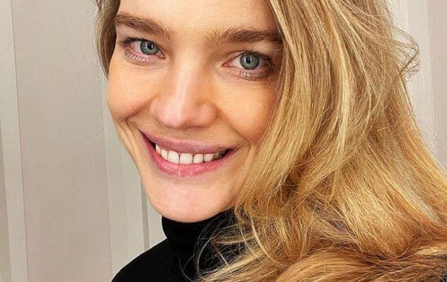 Натуральная красота: Наталья Водянова покорила сеть молодостью на фото без макияжа