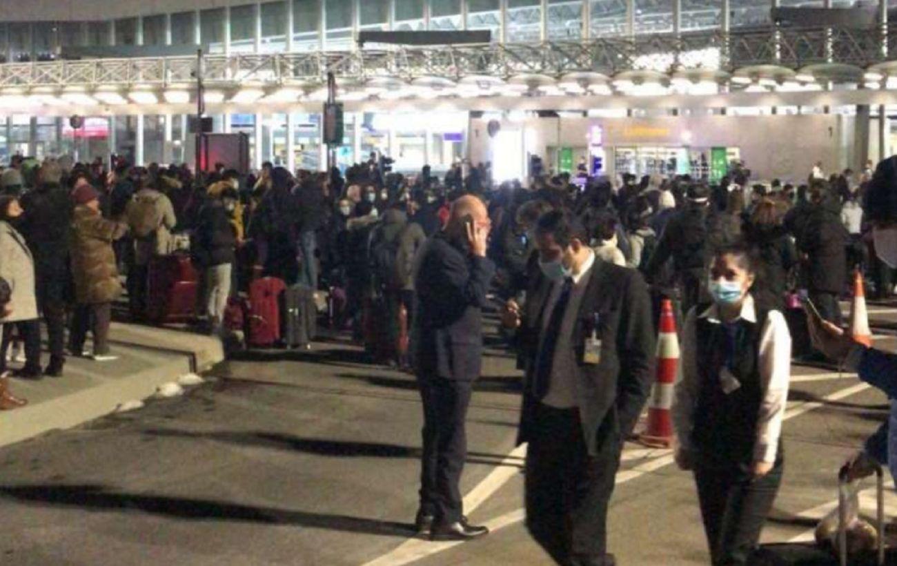 Спецоперация в аэропорту Франкфурта: полиция искала бомбу