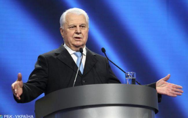 Кравчук запропонував винести на референдум питання Криму і Донбасу