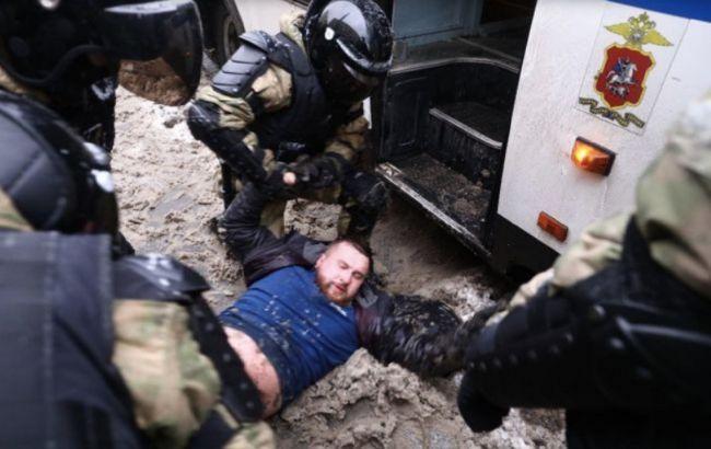 У Росії затримали рекордну кількість учасників протестів, - правозахисники