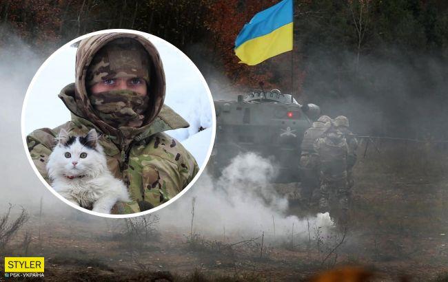 Лохматые вояки: фото верных четвероногих друзей украинских бойцов на передовой