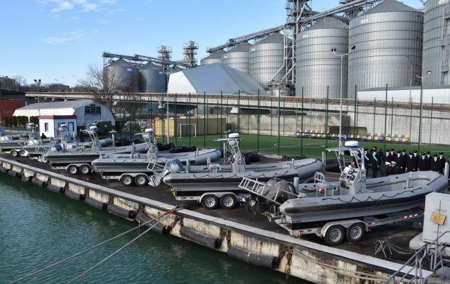 ВМС Украины получили от США скоростные катера и надувные лодки