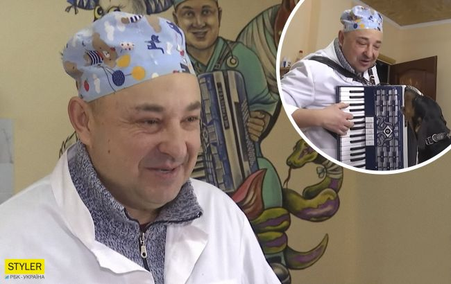 """Ветеринар заспівав """"Несе Галя воду"""" дуетом з песиком: неймовірне відео"""