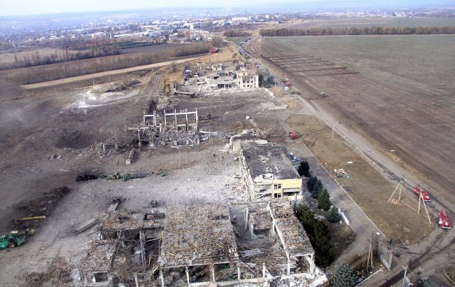 Спустя почти 6 лет. Объявлены подозрения по делу о взрывах на складах в Сватово