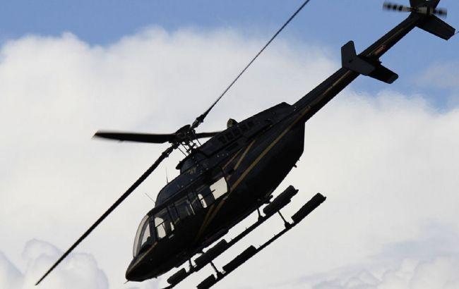 Четыре человека погибли при крушении вертолета в США