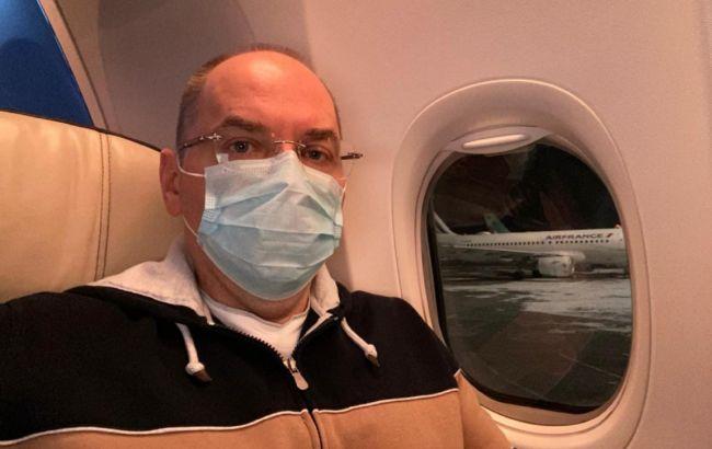 Степанов вылетел в Индию за вакцинами для украинцев