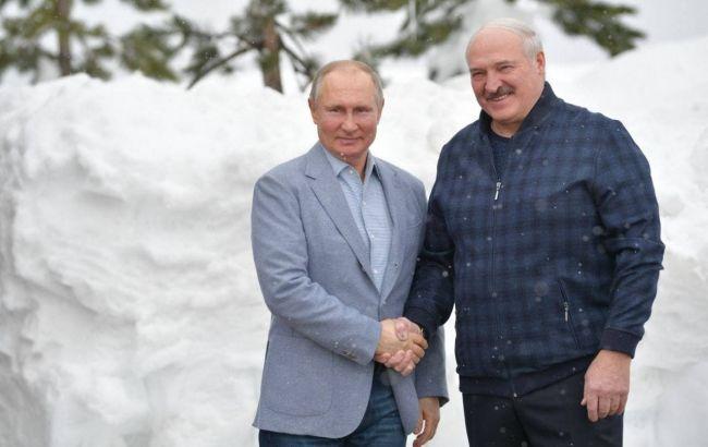 Путин и Лукашенко уже шестой час говорят в Сочи