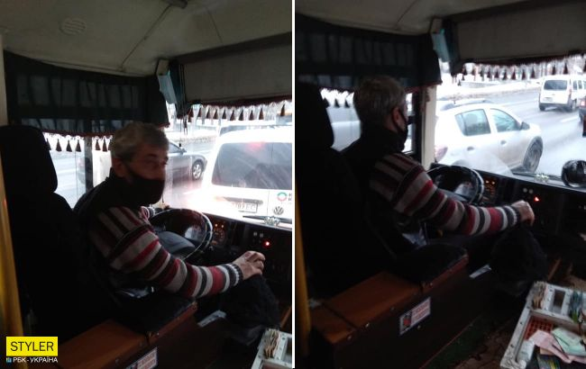 В Киеве наказали маршрутчика-хама, который выгнал дедушку с детьми