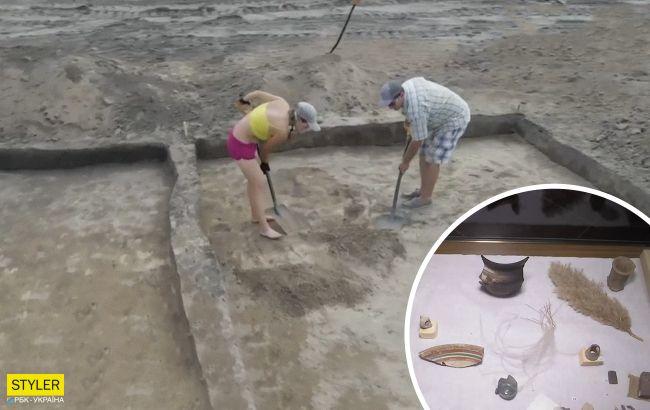 В Украине на стройке дороги раскопали уникальные артефакты: открытие уже назвали великим