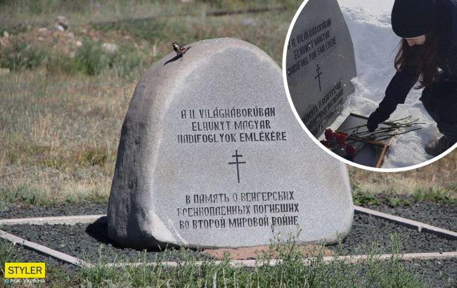 В России фанаты Путина возложили цветы на могилу гитлеровских солдат (фото)