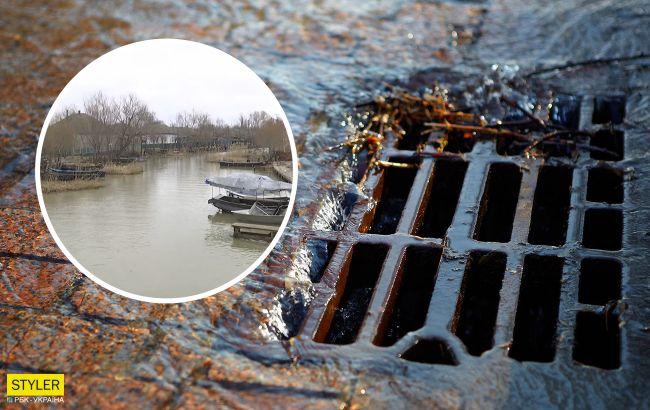"""""""Украинскую Венецию"""" заливает нечистотами: все из-за канализации за 4,5 млн евро"""
