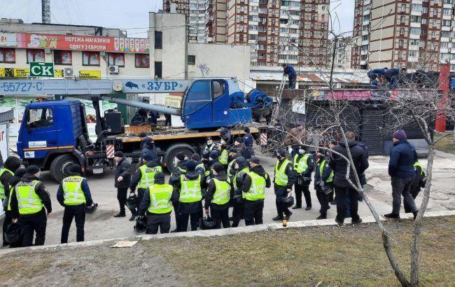 Сутички через МАФи в Києві: затримано вже 14 осіб
