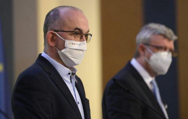 Прем'єр Чехії звільнив главу МОЗ після відмови придбати російську вакцину