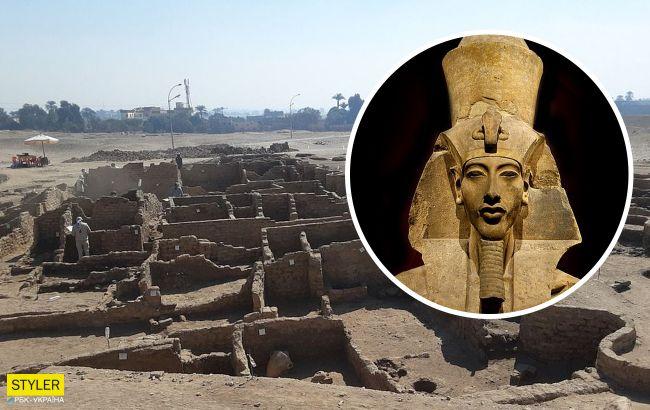 """В Египте откопали затерянный """"золотой город"""": яркие фото уникального открытия"""
