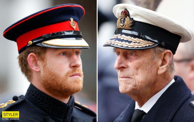 Принц Гаррі виявився копією свого діда в молодості (фото)