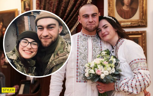 Українські воїни зіграли весілля у Луцькому замку: фронтова історія кохання (фото)